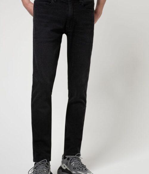 Jeans extra slim fit in denim elasticizzato grigio scuro Buzzitta Stile