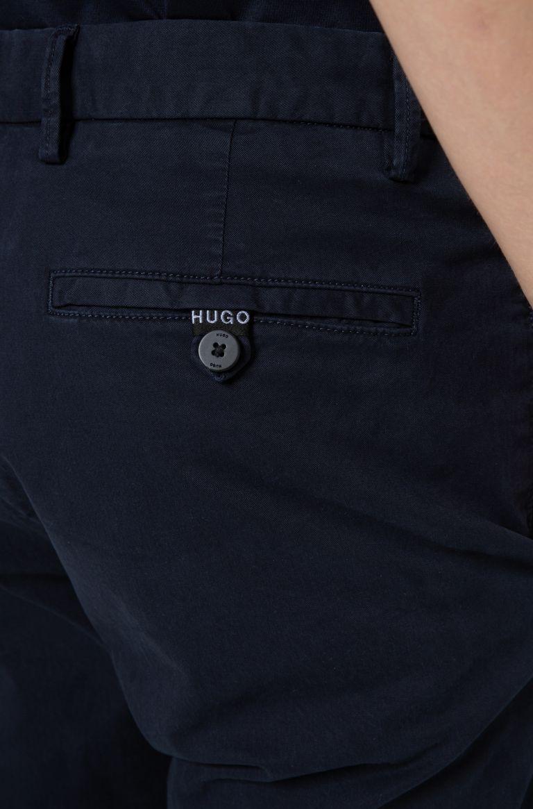 Chino slim fit in gabardine di cotone elasticizzato Buzzitta Stile