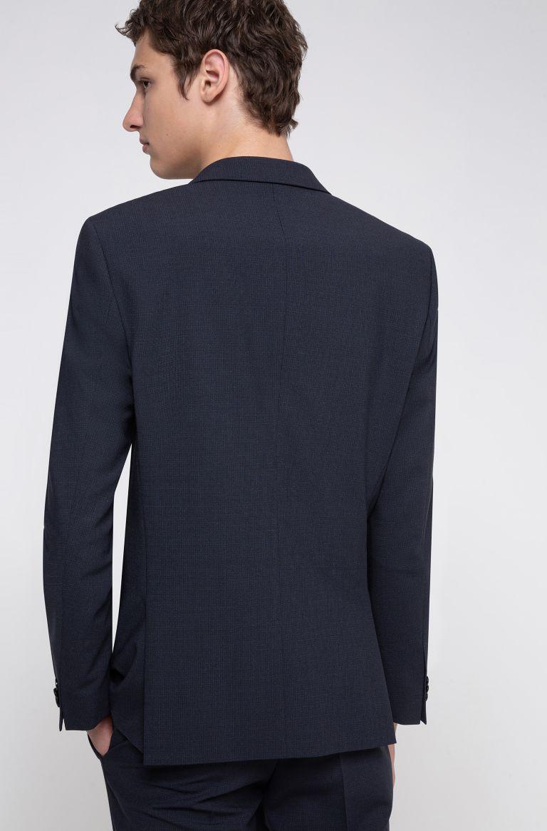 Abito extra slim fit in misto lana super flessibile Buzzitta Stile